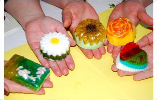 Мыло своими руками в домашних условиях фото
